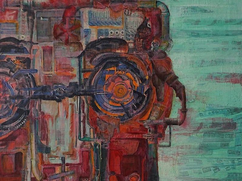 espinosa-art-red-robot-vintage-industrial-metal-2