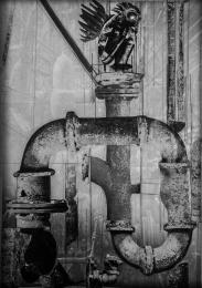 METAMORPHOSIS - pigment pen, graphite, photo collage digital image, on paper - 20x25cm