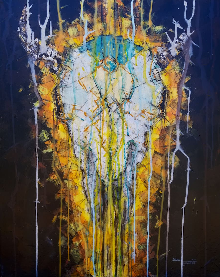 espinosa-art-cowskull-painting-fire